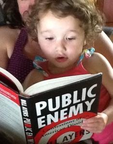 Amelia reading public enemy